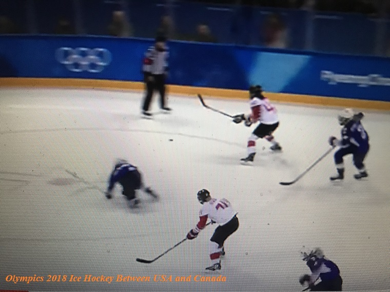 U.S. Olympics women's hockey 2018-3 final