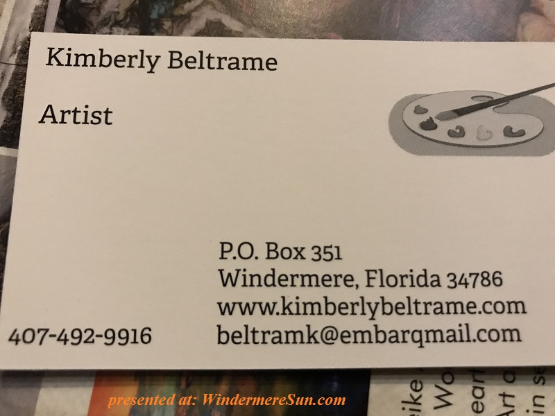 Kimberly Beltrame Artist card final