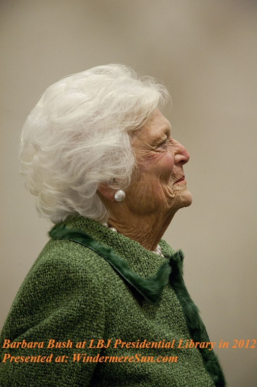 Barbara_Bush_at_LBJ_Presidential_Library in 2012, PD final
