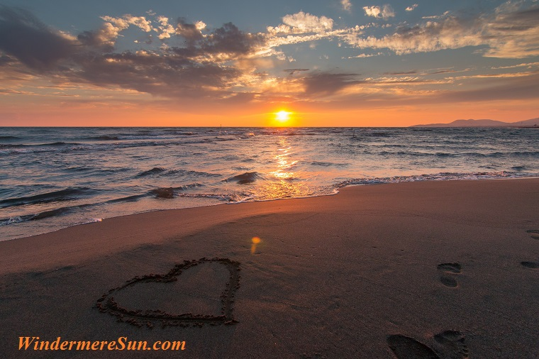sunset and heart at the beach, pexels-photo-269583 final