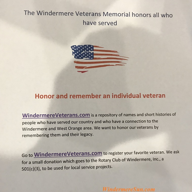 Windermere Honors our Veterans final