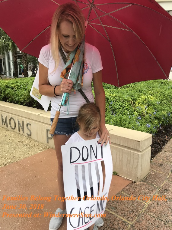 Families Belong Together-Orlando, Orlando City Hall, June 30, 2018-13, final