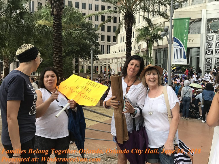 Families Belong Together-Orlando, Orlando City Hall, June 30, 2018-16, final