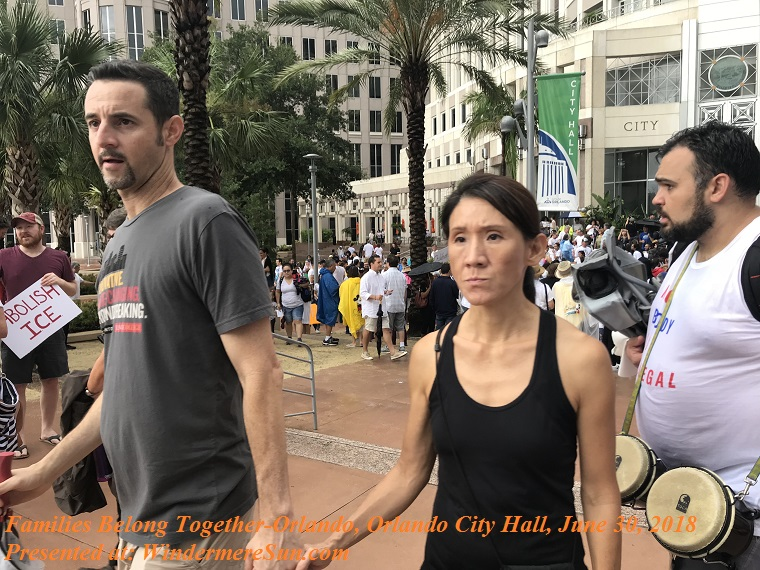 Families Belong Together-Orlando, Orlando City Hall, June 30, 2018-4 final