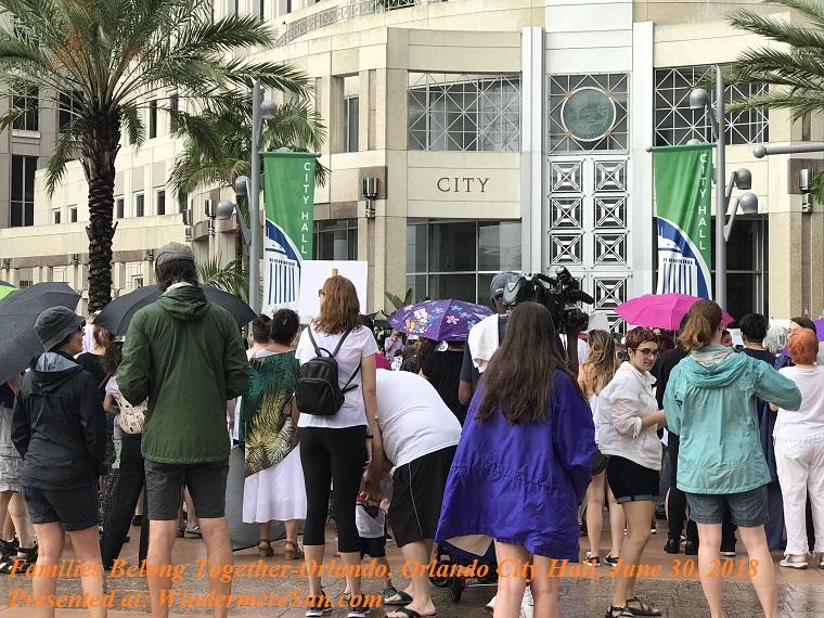 Families Belong Together-Orlando, Orlando City Hall, June 30, 2018-7 final