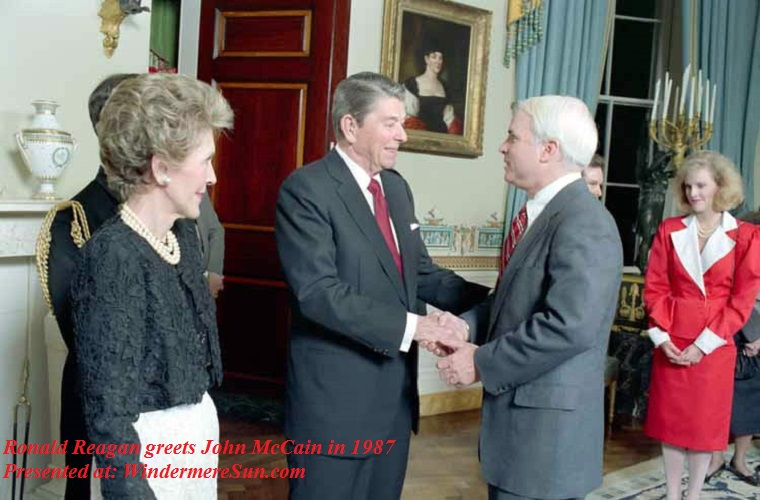 John McCain- Reagans_with_John_McCain_1987 final
