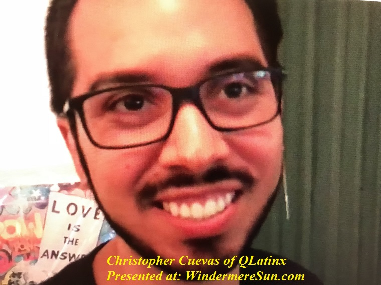 Christoopher Cuevas of QLatinx final