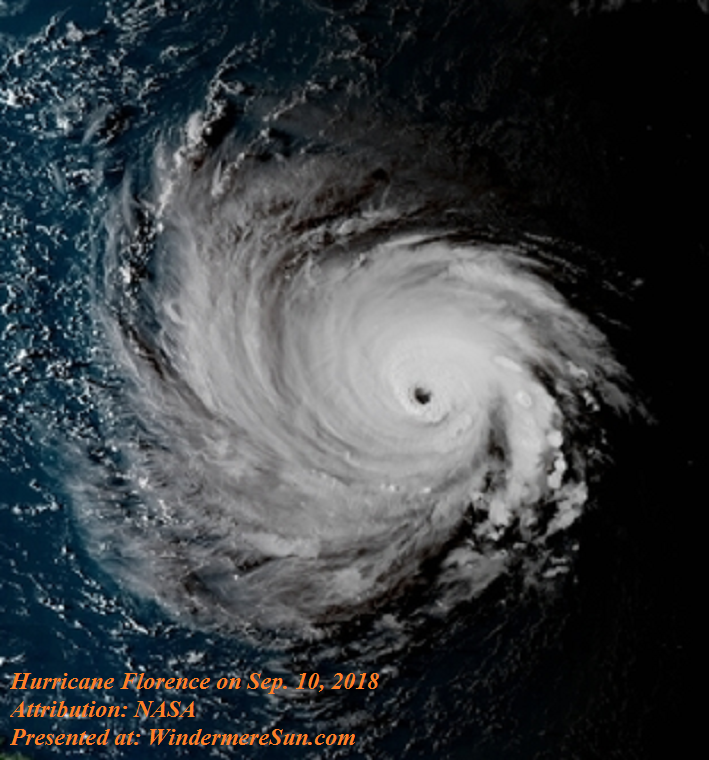 Hurricane Florence Up ...