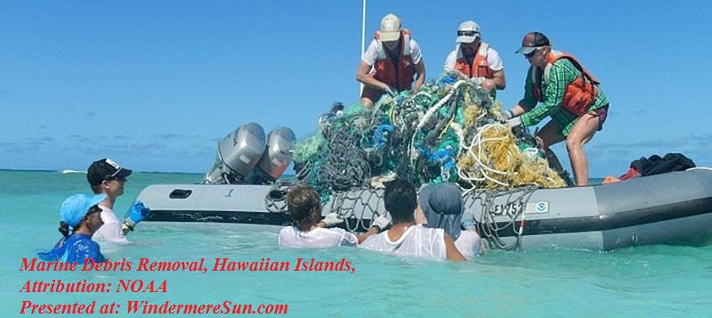 Marine Debris Removal, Hawaiian Islands, attribution- NOAA, PD final