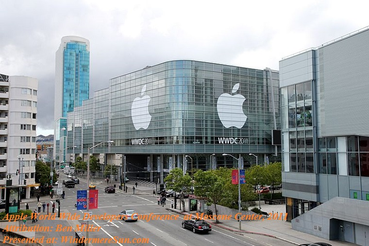 Apple-WWDC_2011_Moscone_West_Exterior, attribution-Ben Miller final
