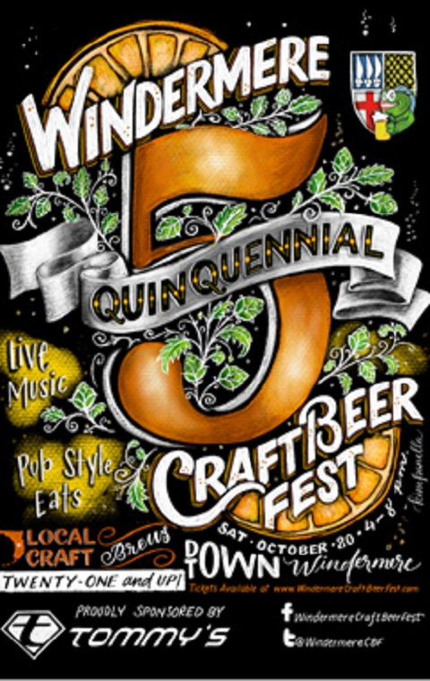 Windermere 5th Annual Craftbeer Festival sign, header_image final