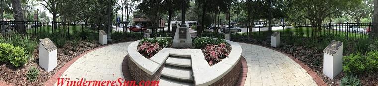 panaramic view of the memorial-1 final