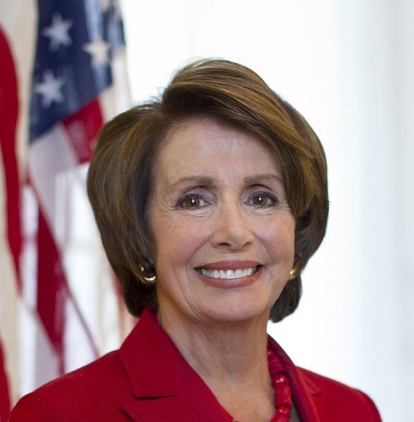 Nancy_Pelosi, Official portrait of U.S. Representative and Minority Leader Nancy Pelosi final short