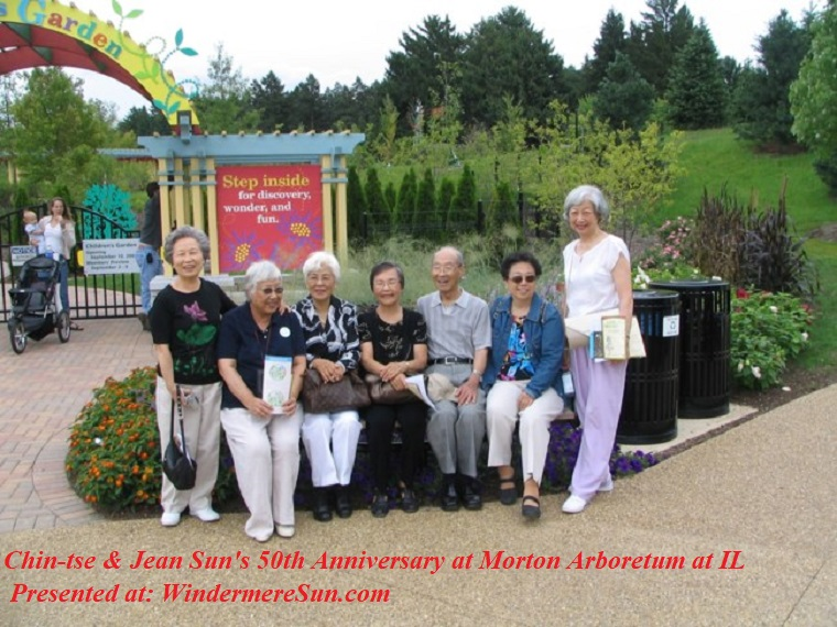 50th Anniv. Celebration with friends L-R, Jean, Ma Te Chung, Wen Sheue, Jean, C.T. Julia, Ta Wen Lee final