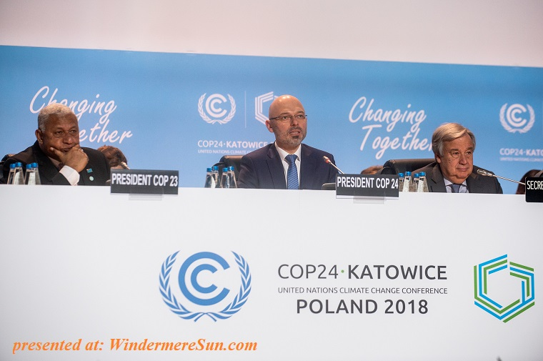 President of COP24 final