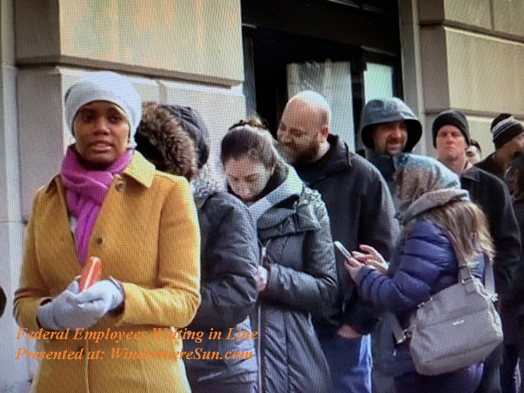 World Central Kitchen-line of federal employees waiting to get free food final