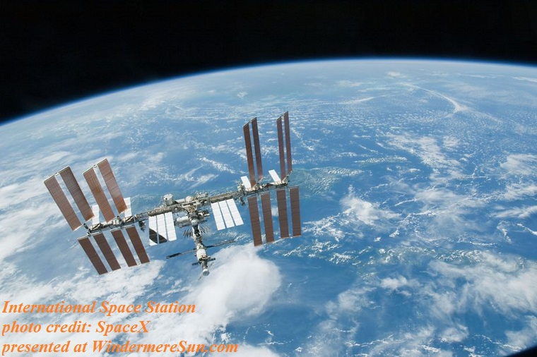 International Space Station, credit SpaceX final