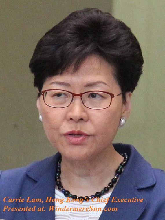 Carrire Lam, Hong Kong Chief Executive final