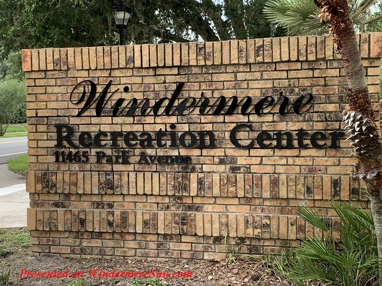 Windermere Recreation Center sign final