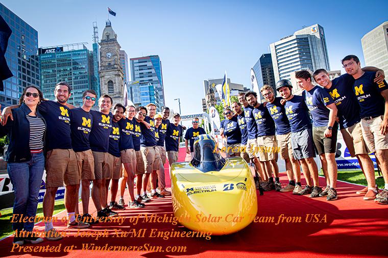 WorldSolarChallenge 2019-UM Electrum, attribution-Joseph Xu, MI Engineering final
