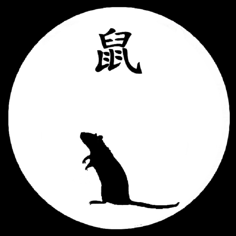 astrological sign for year of the rat, attribution-Alice-astro, CC.3.0 final