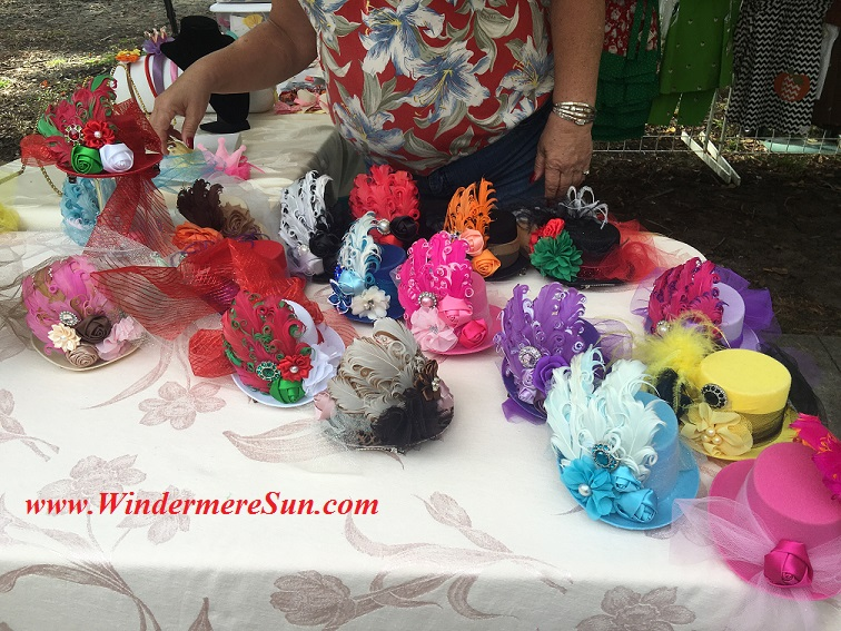 Windermere Farmer's Market-Fantastic looking decorative hats final