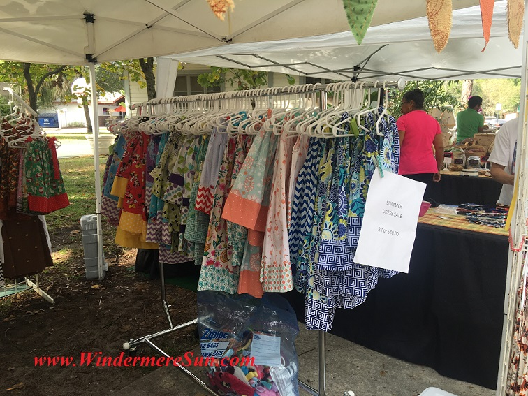 Windermere Farmer's Market-Village Needler's hand made clothing final