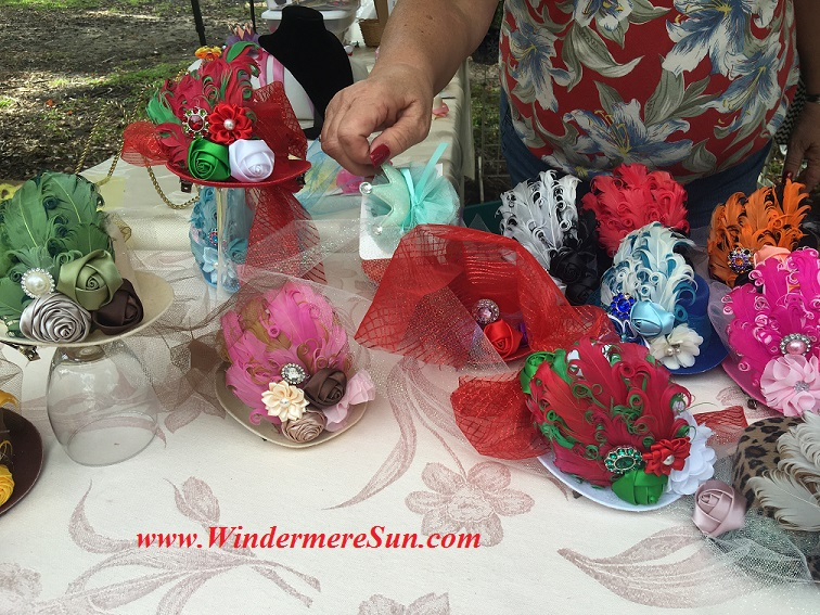 Windermere Farmer's Market-holiday season hats by Village Needler final