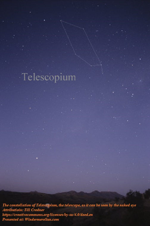 Constellation Telescopium