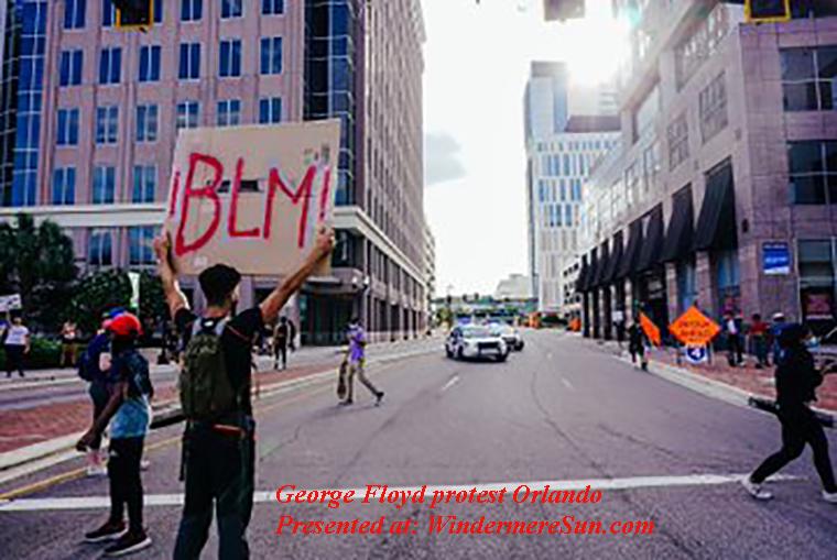 George Floyd protest Orlando-3 final