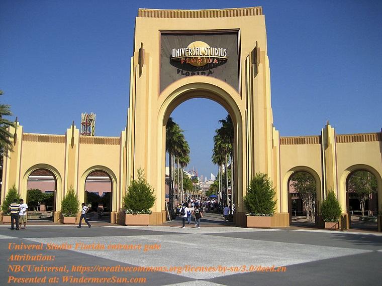 Universal Studio Florida entrance gate, attribution-NBCUniversal, CC.3.0 final