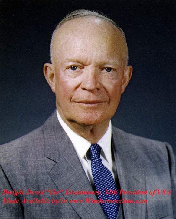 Egg Roll-President_Eisenhower_Portrait_1959.34th pres of usa pub do final