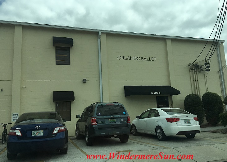 Orlando Ballet School Central Campus building temporary at 415 East Princeton St., Orlando, FL final
