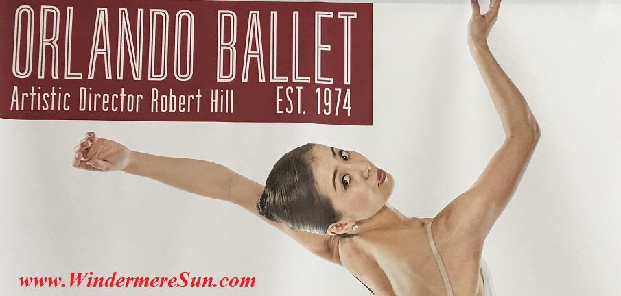 Orlando Ballet School South Campus 40 year top poster at 7988 Via Dellagio Way, Suite 204., Orlando, FL final