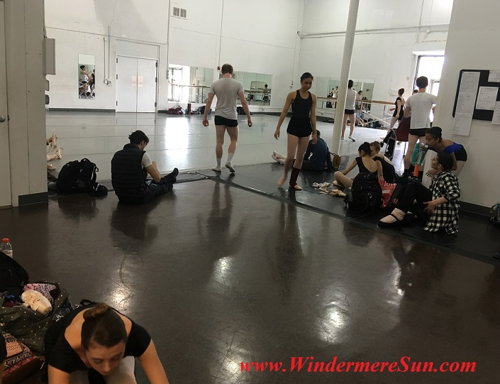 Orlando Ballet School-students of OBS pre-rehearsal final