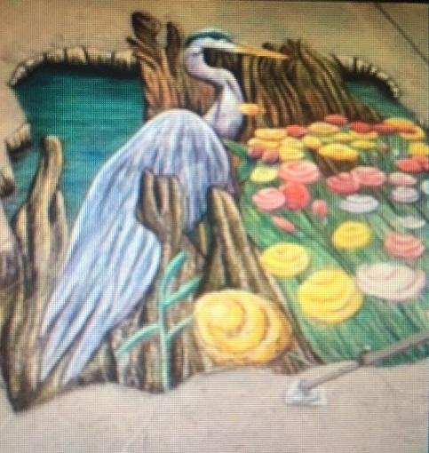 Spring Fever In The Garden street art2 final