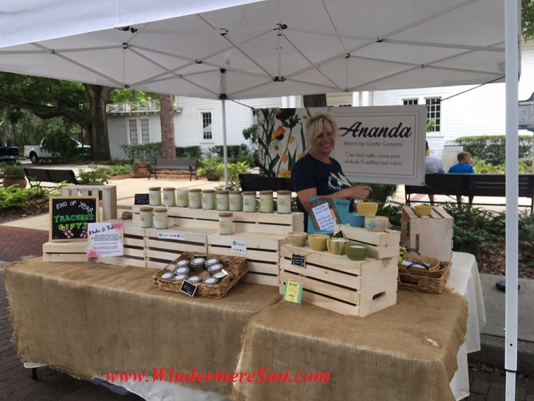 Windermere Farmer's Market-Ananda natural candles company1 final