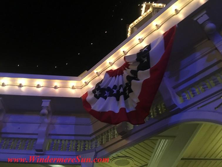 Disney-MagicKingdom-July4 flag under roof final