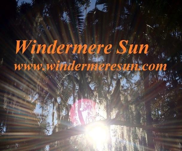 Windermere Sun concentric sunbeams top