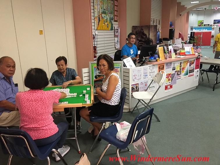 YESS activity mah-jong final