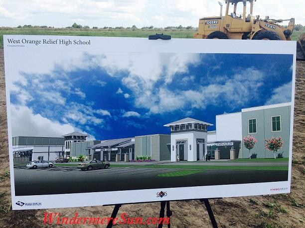West Orange Relief High School artist rendering final