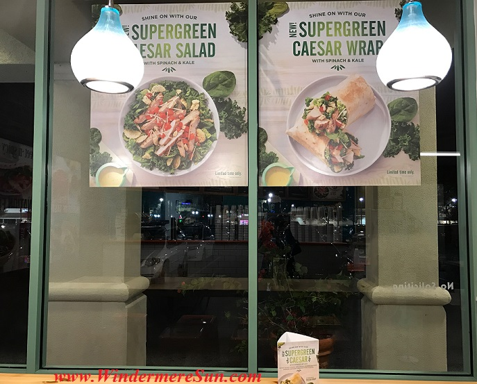 Supergreen Cesar Salad sign final
