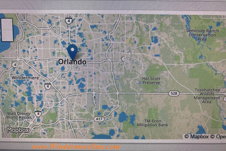 Orlando People's Climate March April 2017 map final