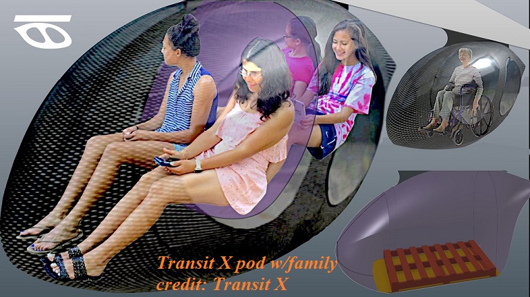 Transit X pod with family final