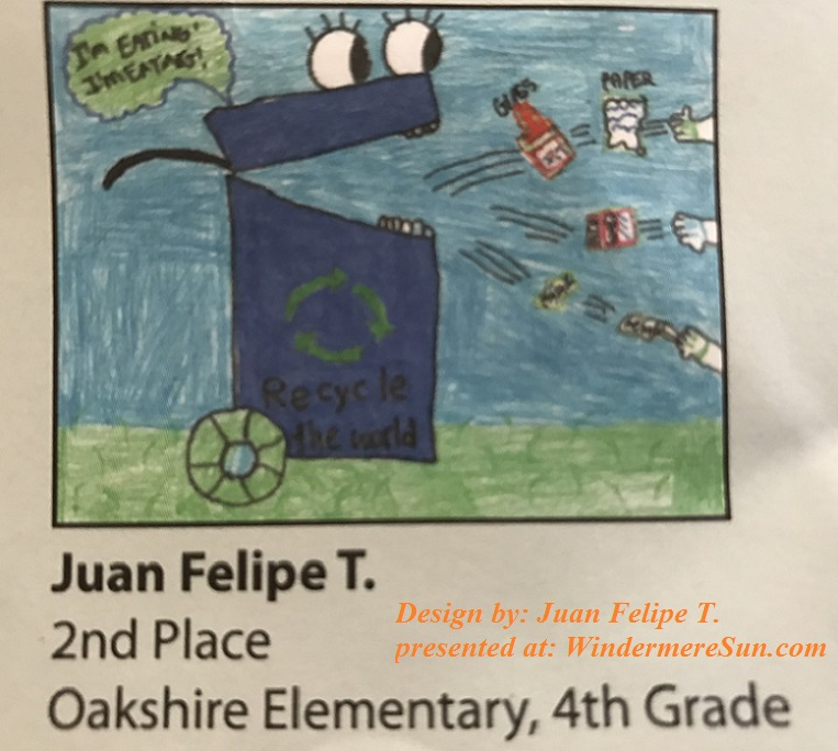 2nd place from Oakshire Elementary, 4th grade, Juan Elipe T final