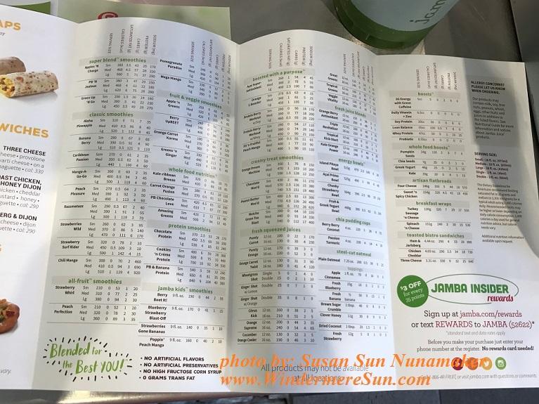 Jumba Juice-nutrition and calorie counts final