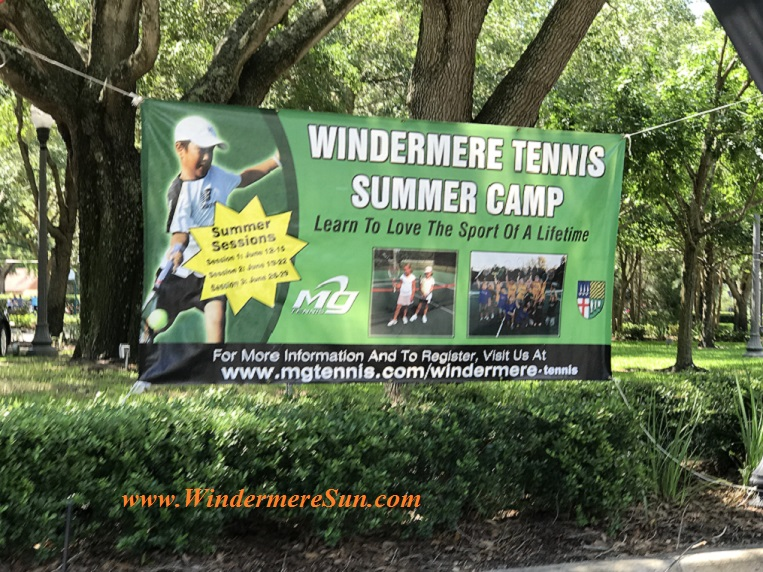 Windermere Tennis Summer Camp 2017 final