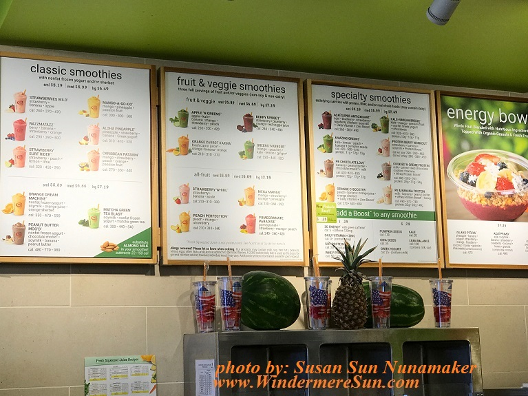 Jamba Juice Great On A Hot Summer Day Windermere Sun For Healthier Happier More Sustainable Living