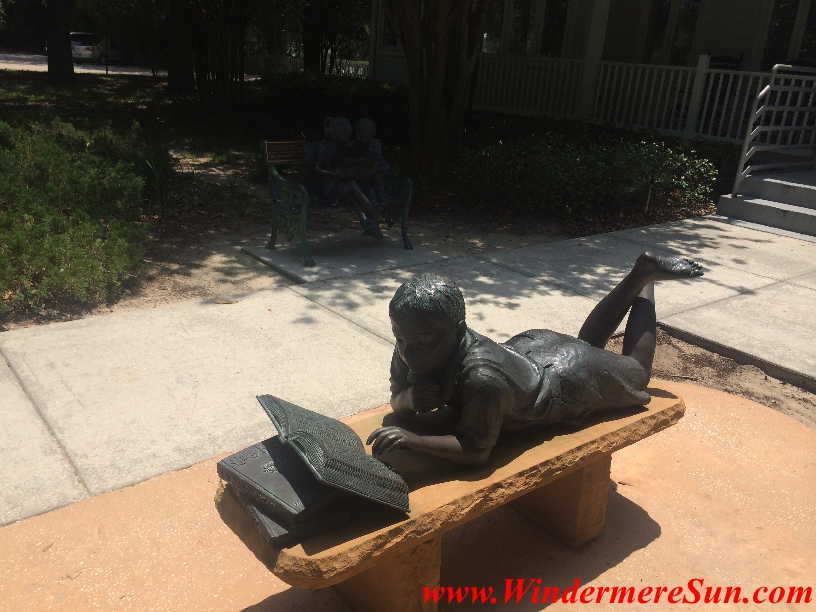 Windermere Library reader statue 1 final