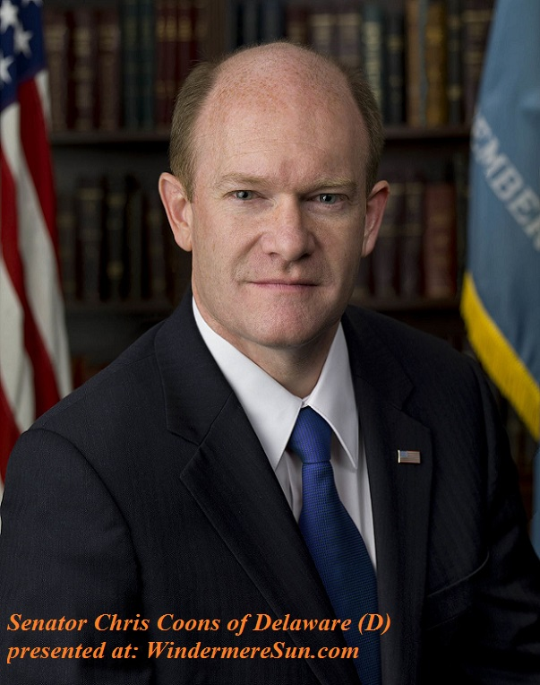 Chris_Coons,_official_portrait,_112th_Congress. Dem Senator of Delaware final
